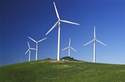 parque eolico con aerogeneradores