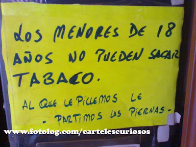 tabaco y menores