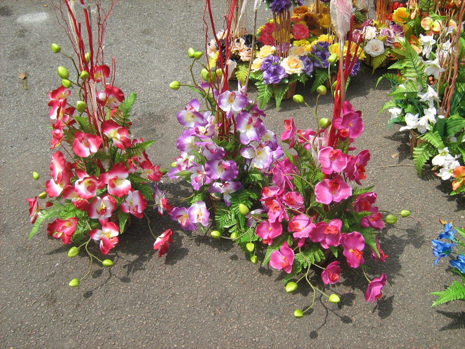 Kod 102 - Bunga Orkid untuk hiasan sudut,
