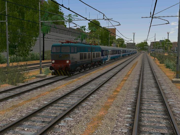 e656.307 treno espresso 834 freccia del sud