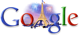 logo google 14 juillet 2007