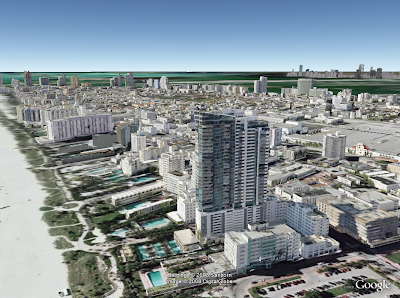 miami beach en 3d google earth