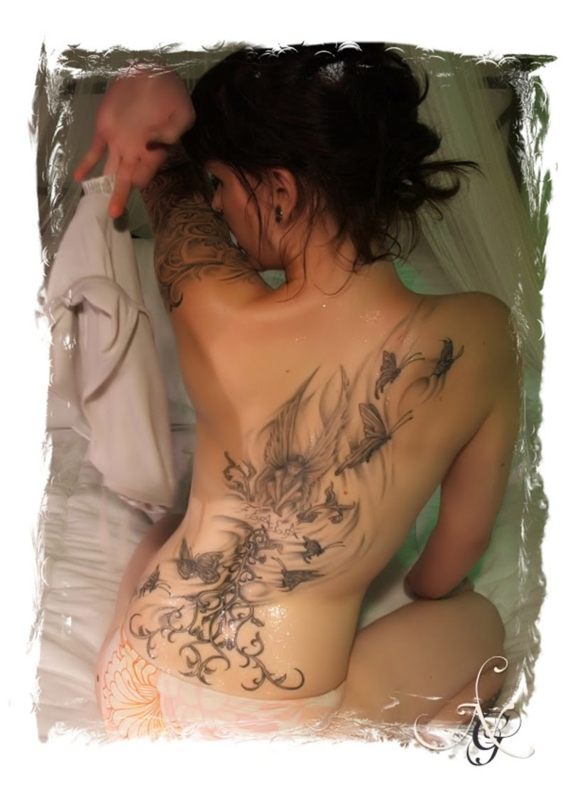 Women's Tattoo Designs Growing Very Fast