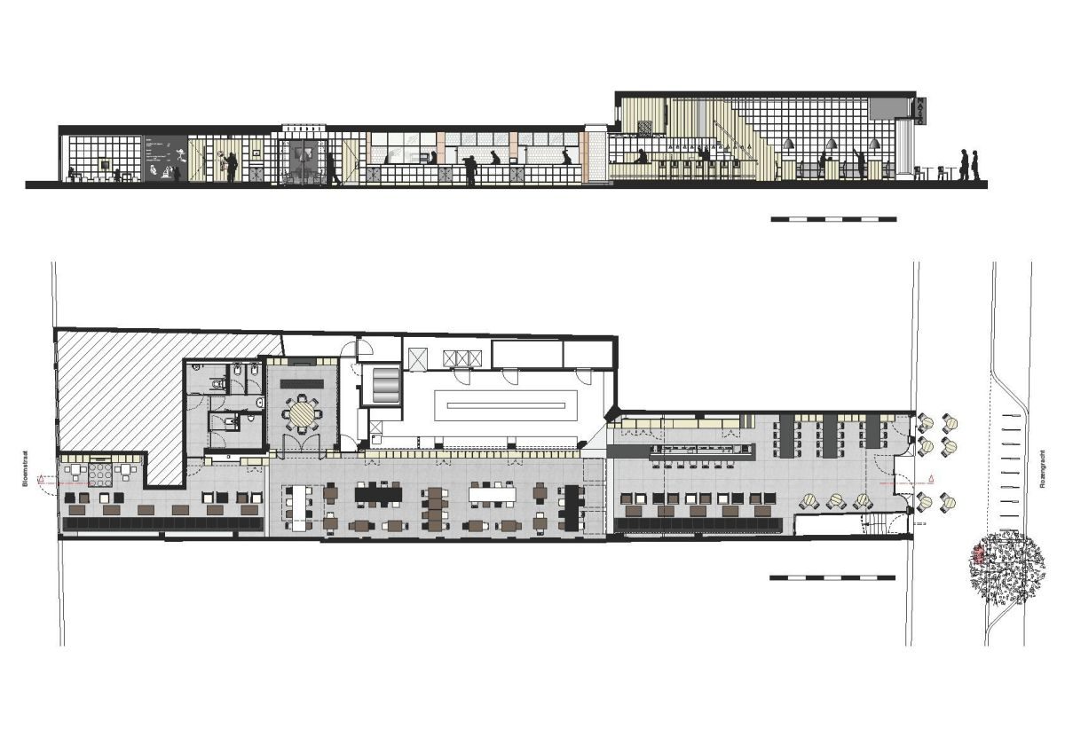 Cafe and Restaurant Floor Plans  ConceptDraw