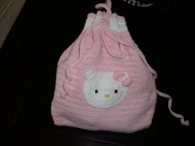 portatodo hello kitty rosa