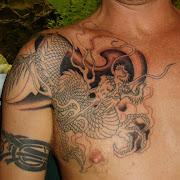 Tatuajes de Dragón japones . DISEÑOS DE TATUAJES tatuaje de dragon