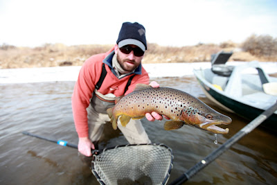 Wyoming fly fisher flyfishing grey reef and miracle mile for Miracle mile fishing report