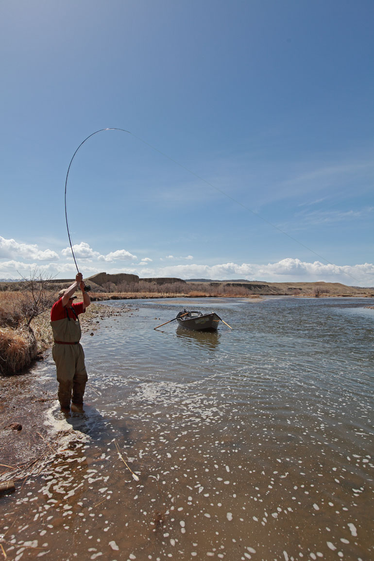 Wyoming fly fisher grey reef fly fishing for Casper wyoming fly fishing