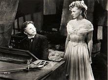 Opposite Claude Rains in the 'Phantom of the Opera'.
