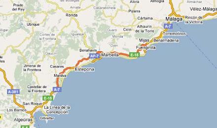 costa map