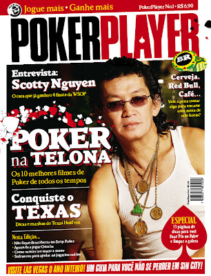 Poker Player Brasil - Capa da edição número 1