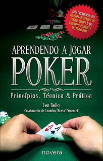 Aprendendo a Jogar Poker - novo livro do Leo Bello e Leandro Brasa - Capa