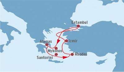 Crucero Islas Griegas y Turquía, Pullmantur