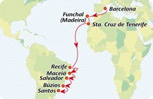 Iberocruceros, crucero desde Tenerife