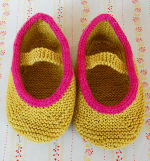 The Purl Bee's Mary Janes