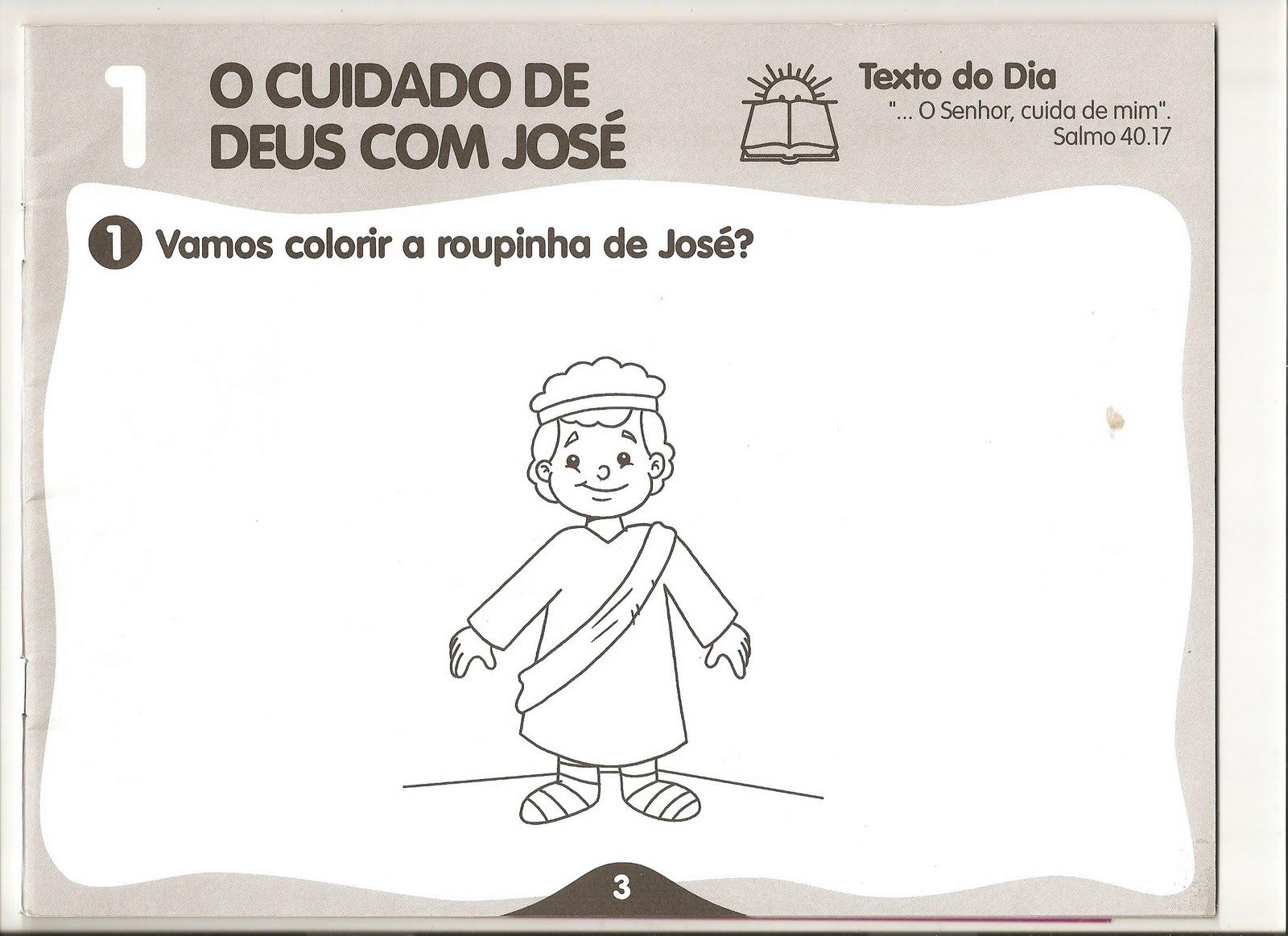 Top ♥Algo Tão Doce Educação♥: Aula EBD Infantil -José o Sonhador MQ85