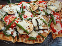 Yummy Grilled Pizza