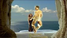 Hermes hablando con Calipso