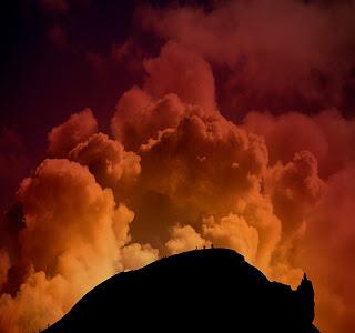 Sverrir Thor : Volcano audience in Iceland