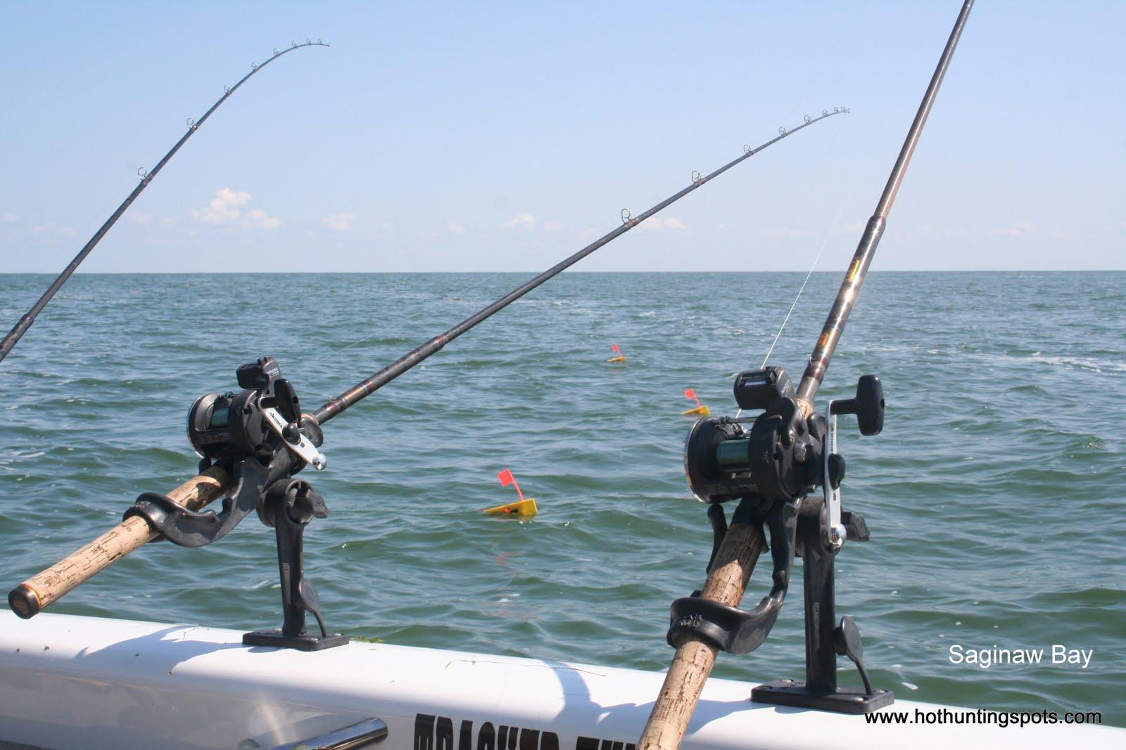Houghton lake walleye report houghton lake saginaw bay for Saginaw bay fishing