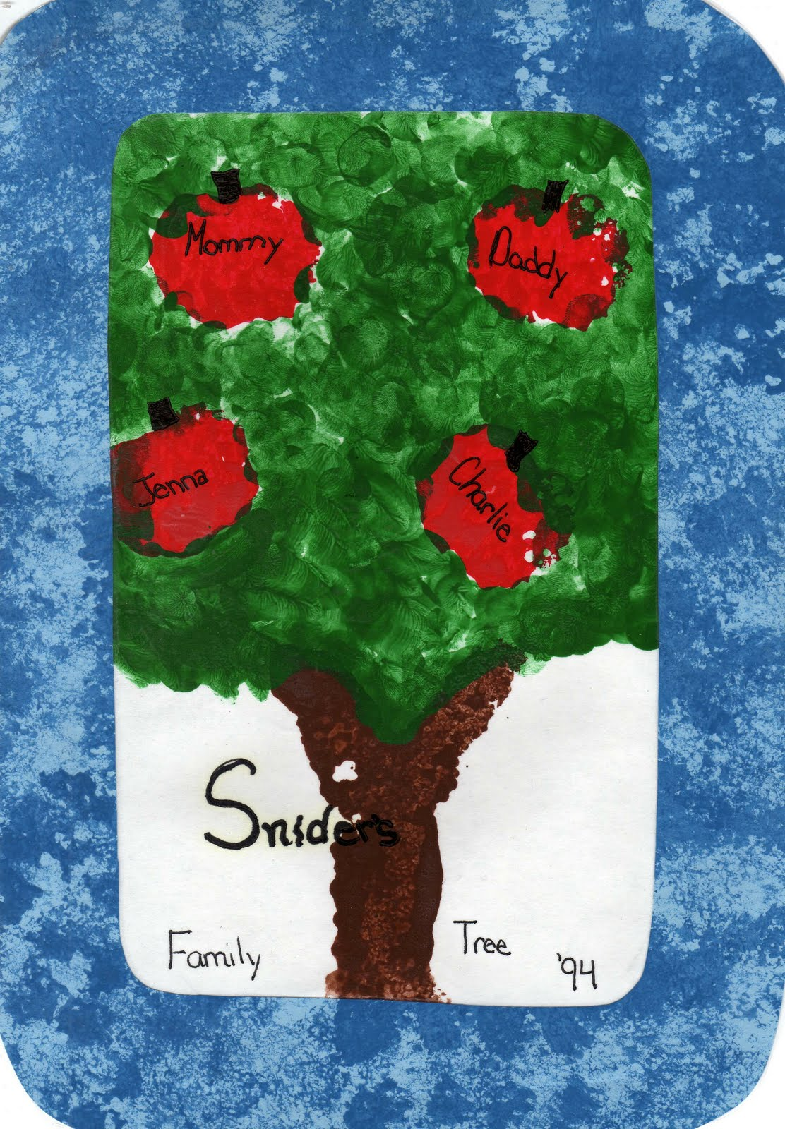 Family Tree for Elementary Students http://okscribbler.blogspot.com/2010/04/mothers-day-family-tree.html