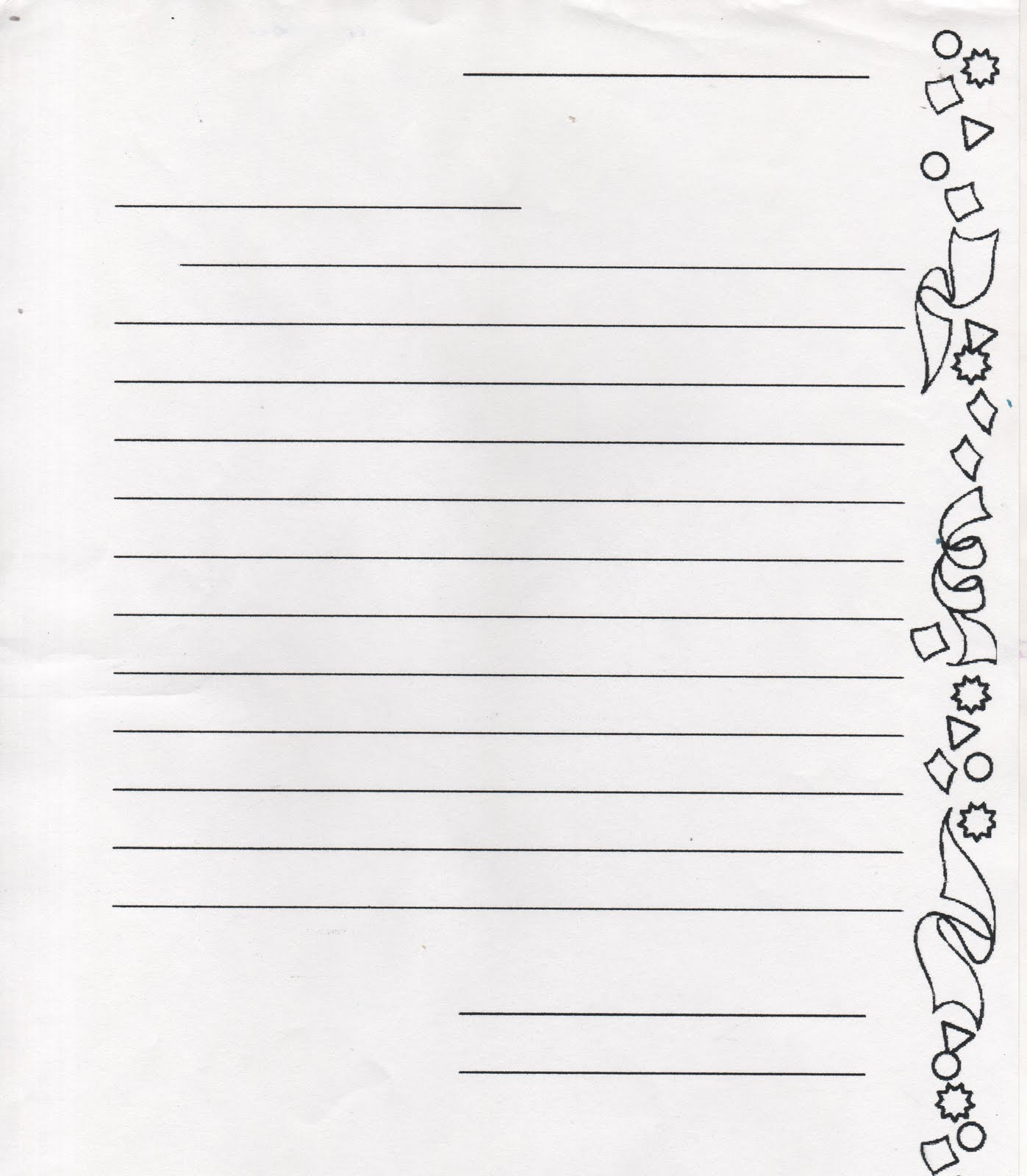 Sample Pen Pal Letter For Elementary Students