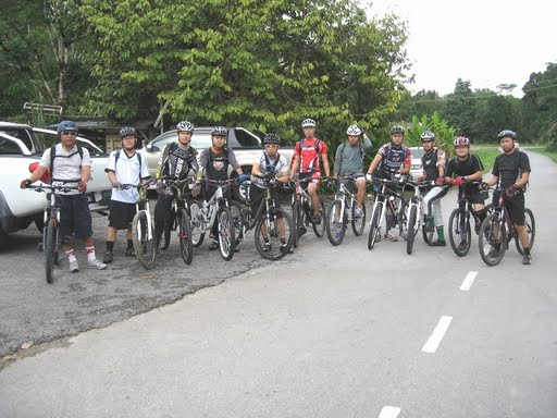Riding at Padang Pan (31/01/2010)