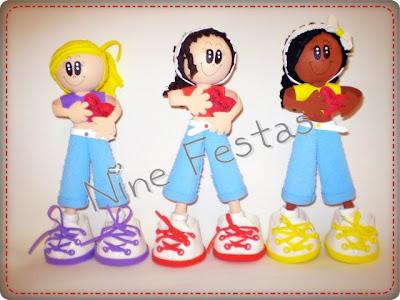 Bonecas 3D Feitas De E V A