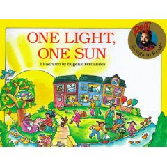 Raffi One Light One Sun Book Cover