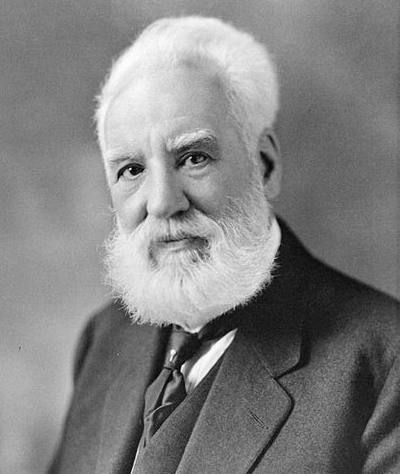 Alexander Graham Bell Famously known for inventing the telephone; he was born on March 3rd 1847 and is also known to be an engineer and scientist. Alexander Graham Bell was known for his later revolutionary work in aeronautics, optical telecommunications, and hydropolis.