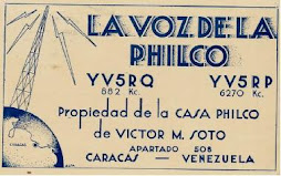 LA VOZ DE LA PHILCO