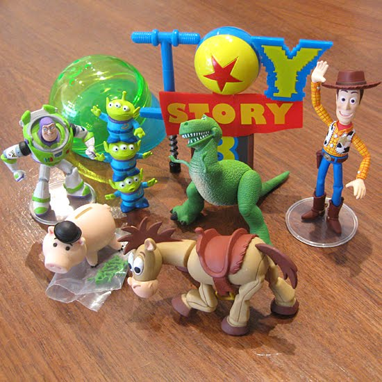 toy story 4 logo. Toy Story 3 Diorama Capsule