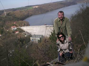 Na Vranovské přehradě