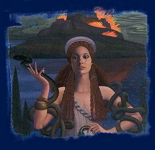 Casandra mitologia griega dioses y leyendas for En la mitologia griega la reina de las amazonas