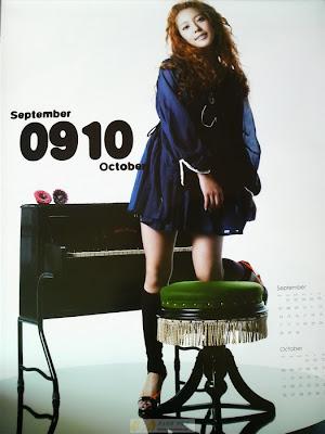 BoA Kwon Calendar