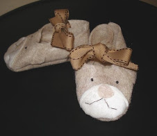 Beary cute booties