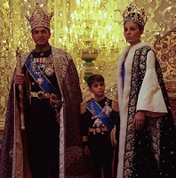 Mohammad Reza Pahlevi, Farah Diva y su hijo Príncipe Heredero Reza Ciro Pahlavi