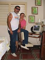 Charles Pi, en su casa en Pinar del Río