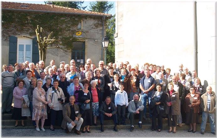 Les participants le 20 septembre 2008