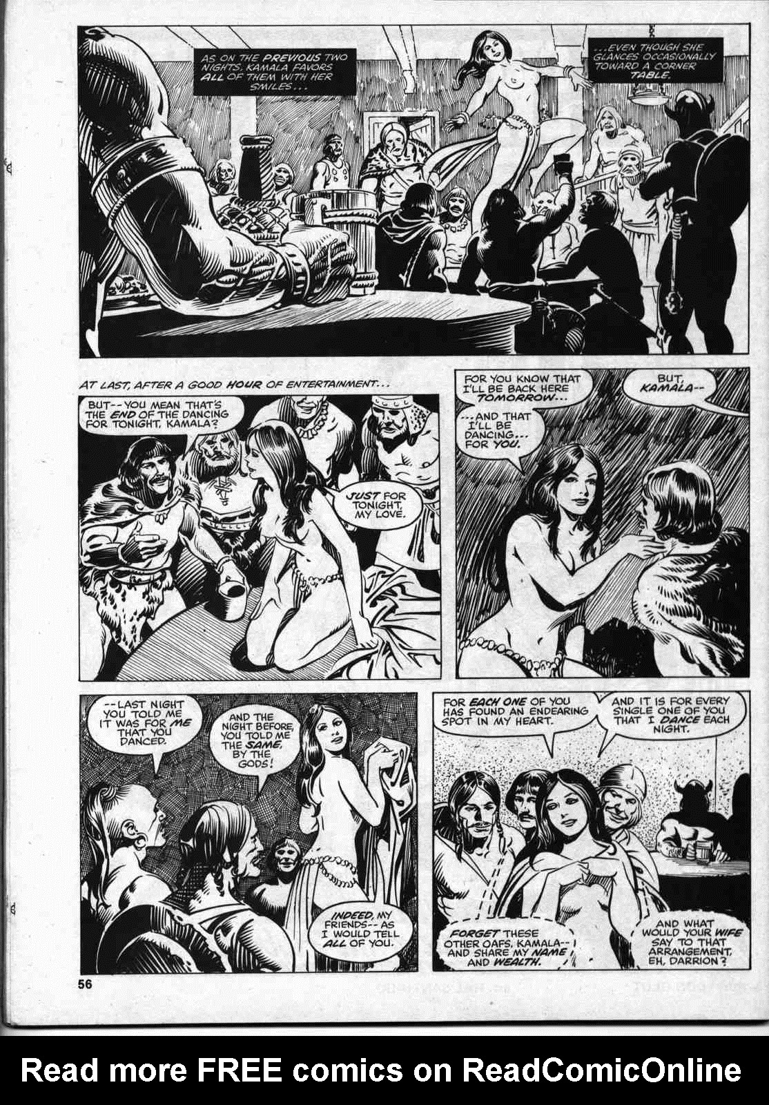 The Savage Sword Of Conan Issue #46 #47 - English 54