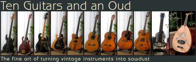 Ten Guitars and an Oud