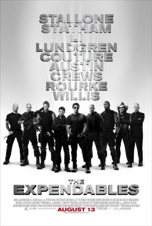 The Expendables, armas de la película