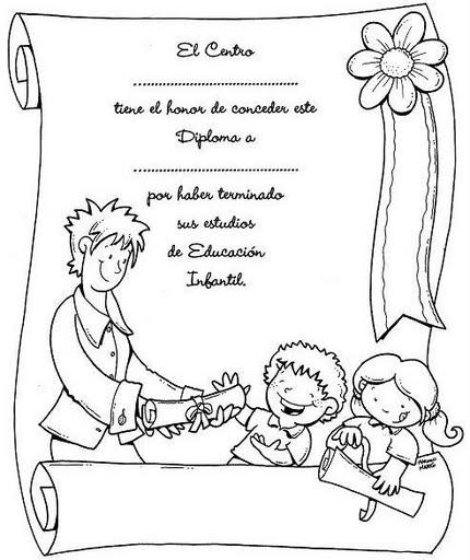 Diplomas en blanco - Imagui