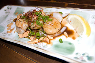 Guu with Garlic Hotate Butter or Seared Scallops