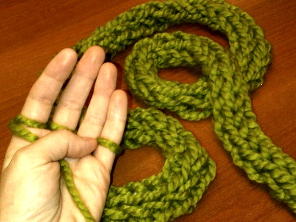 Notes From The Republic Finger Knitting