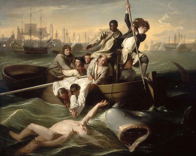 Watson and the Shark by John Singleton Copley, Boston MFA