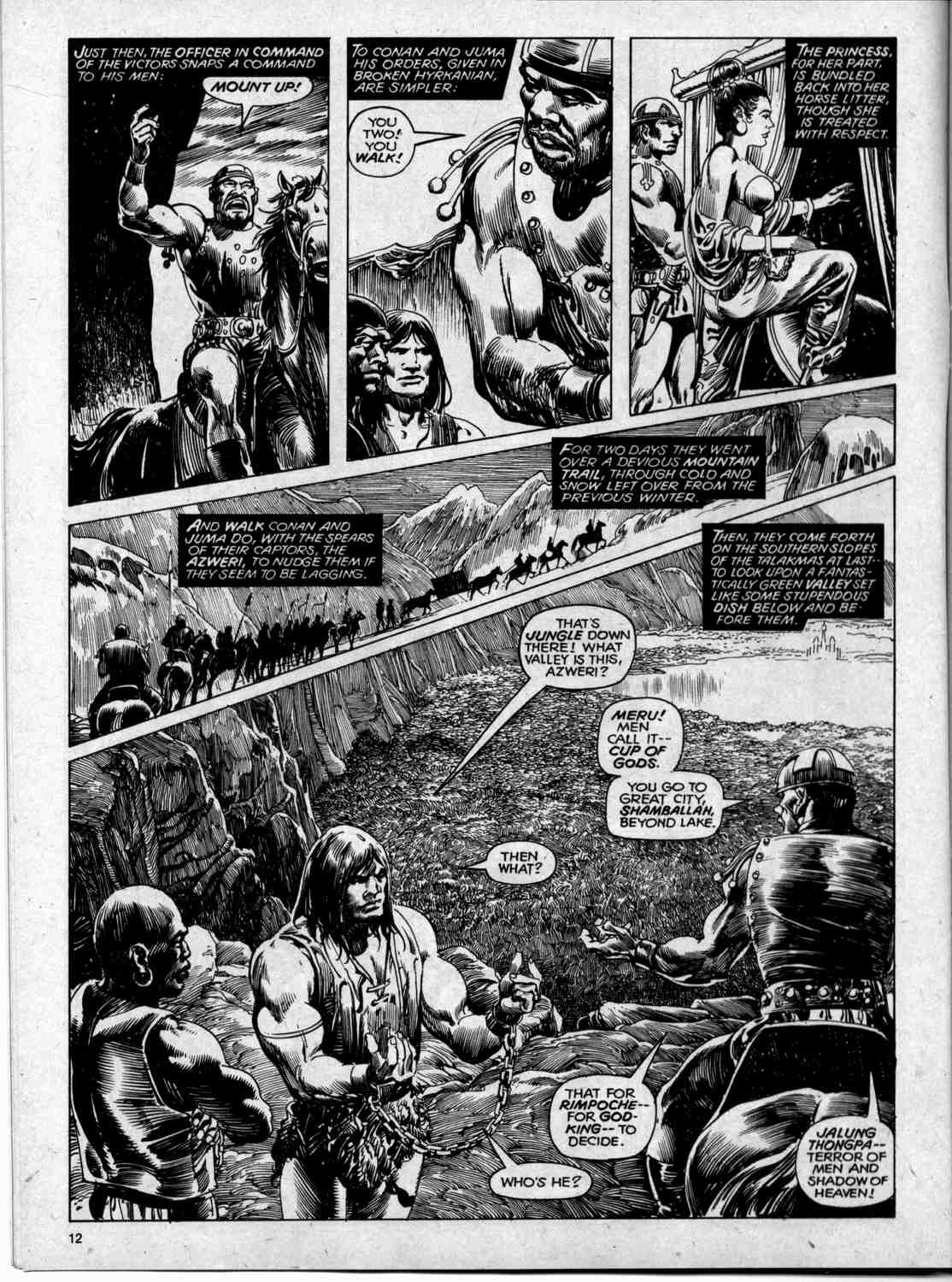 The Savage Sword Of Conan Issue #59 #60 - English 12