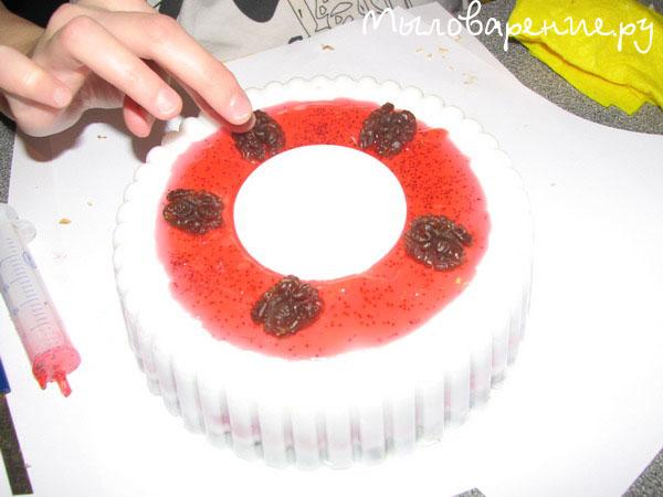 Мастер класс мыльный торт