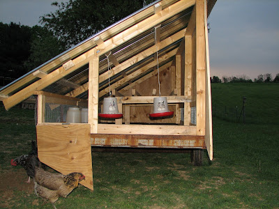 Adventures In Farming Mobile Chicken Coop