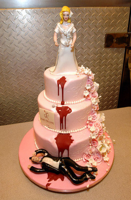 Life Is Like a Movie 5 Whimsical Wedding Cakes